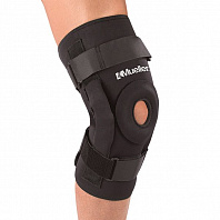 Наколенник MUELLER Pro Level Hinged Knee Brace Deluxe B5333 черный - фото